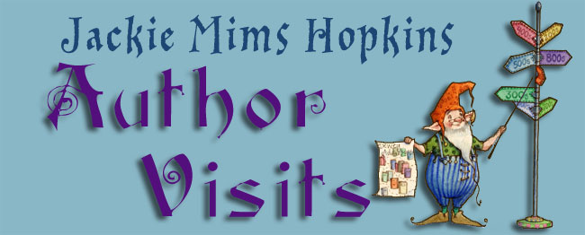 Author Visits: Jackie Mims Hopkins